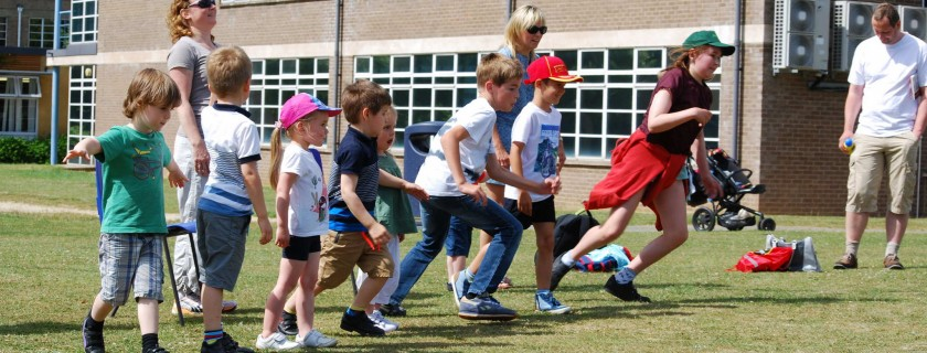 Sports Day at the Russian School